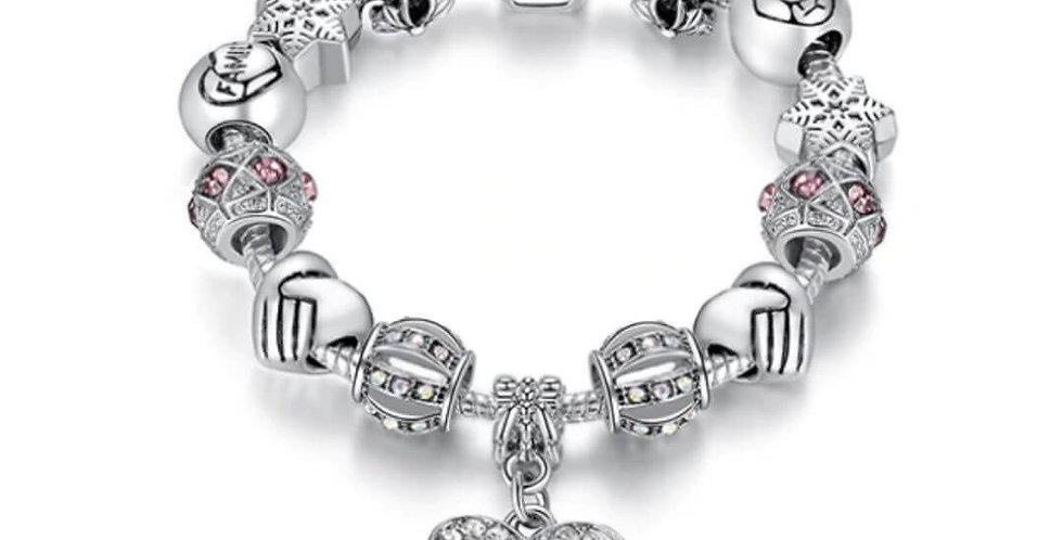 Luxury Crystal Charm Bracelet