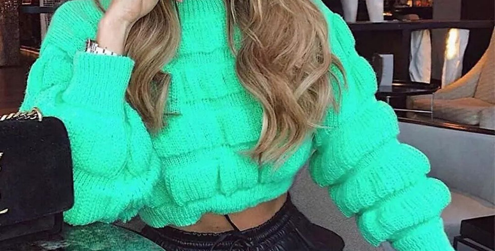Pullover Jumper Knitting Sweater