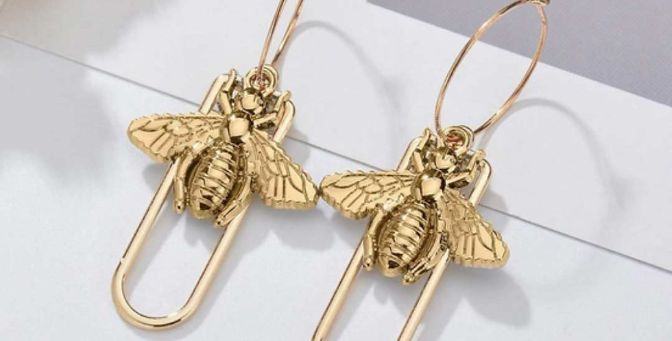 Special Fashion Design Insect Drop Earrings