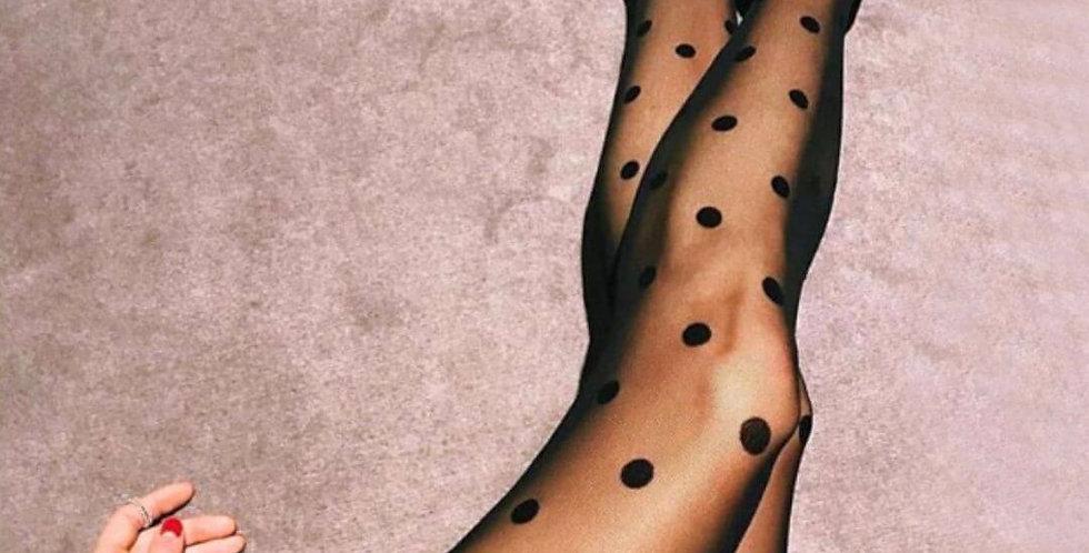 Sexy Transparent Dot Sexy Legging