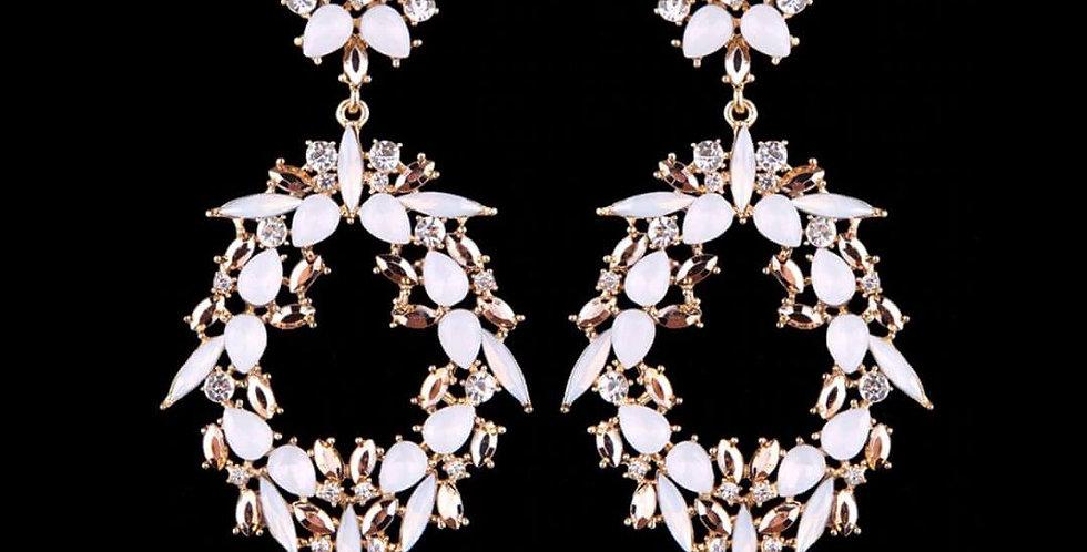 Luxury Crystal Water Drop Earrings