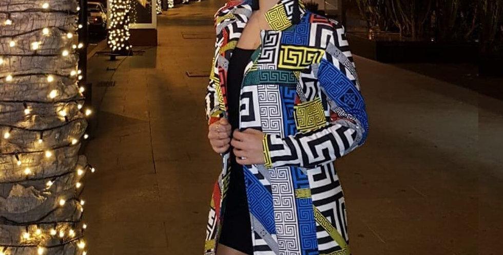 Stylish Women Mini Dress/Coat