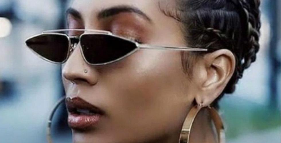 New Cat Eye Triangle UV400 Sunglasses