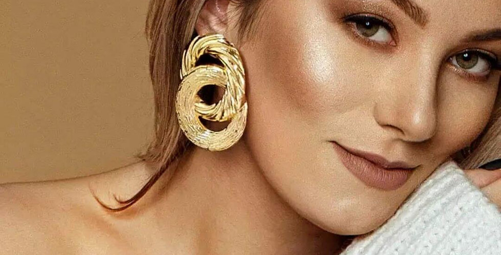 Fashion Modern Geometric Statement Earrings