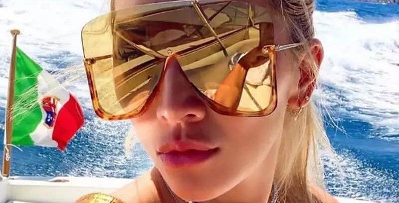Luxury Brand Oversize Square Sunglasses