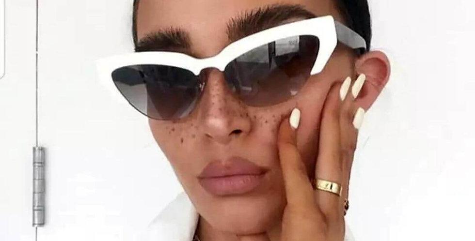 Luxury Brand Designer Cat Eye Sunglasses