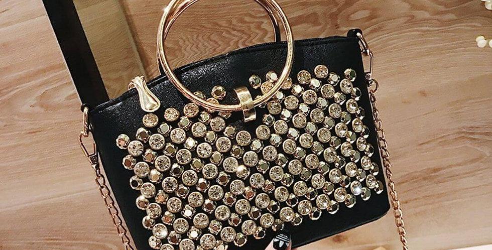Luxury Designer Crystal Handbag
