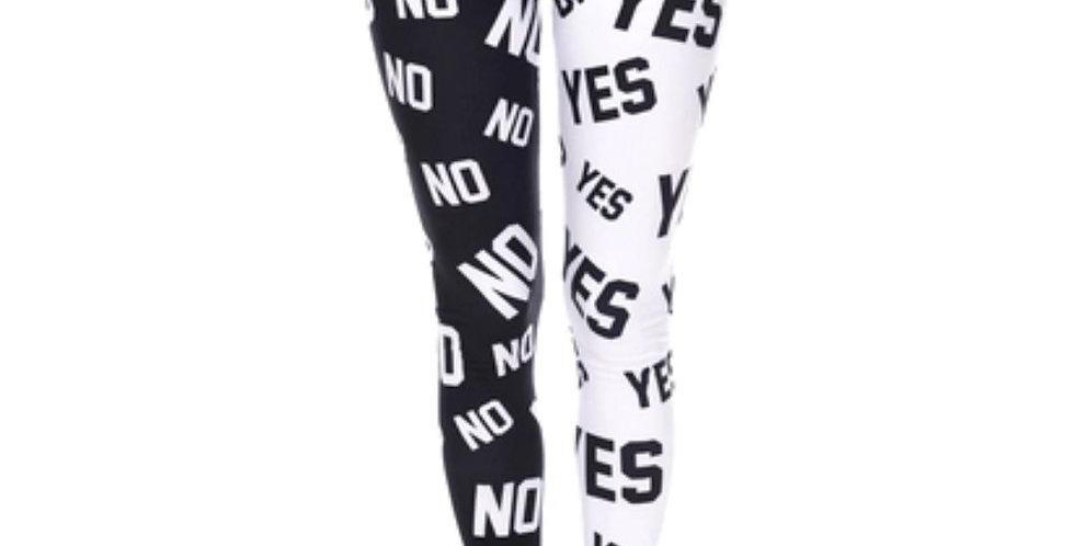 Fashion Yes/No Printed Slim Fit Legging