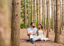 Alisha & Zafar's Engagement Shoot