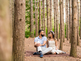 Alisha & Zafar's Engagement Shoot
