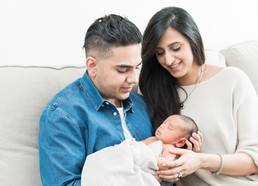 Sara & Ibrahim's Family & Newborn Session