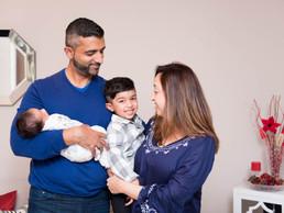 S & K Family & Newborn Session