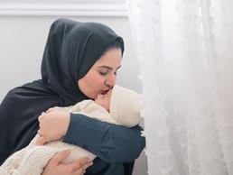 Taha & Zahra's Family & Newborn Session