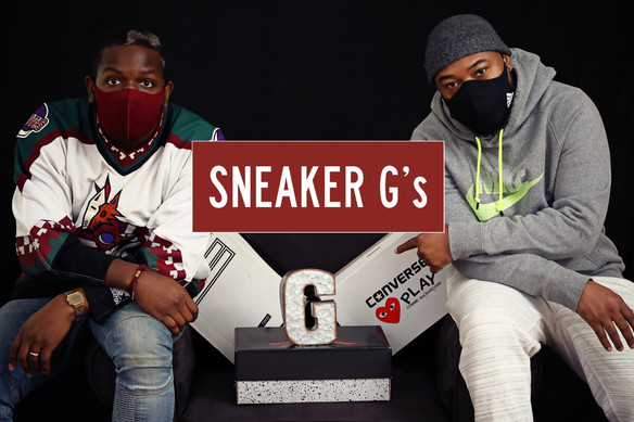5 Questions with Podcast Sneaker G's