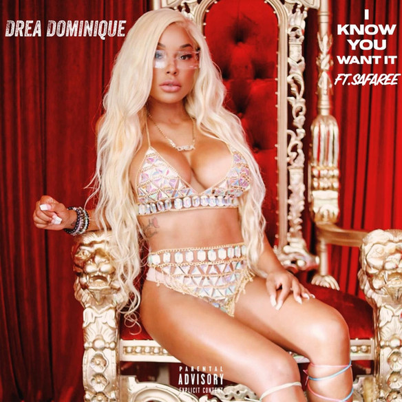 """BAD GIRLS CLUB'S DREA DOMINIQUE SEDUCES SAFAREE IN NEW VIDEO FOR """"I KNOW YOU WANT IT"""""""