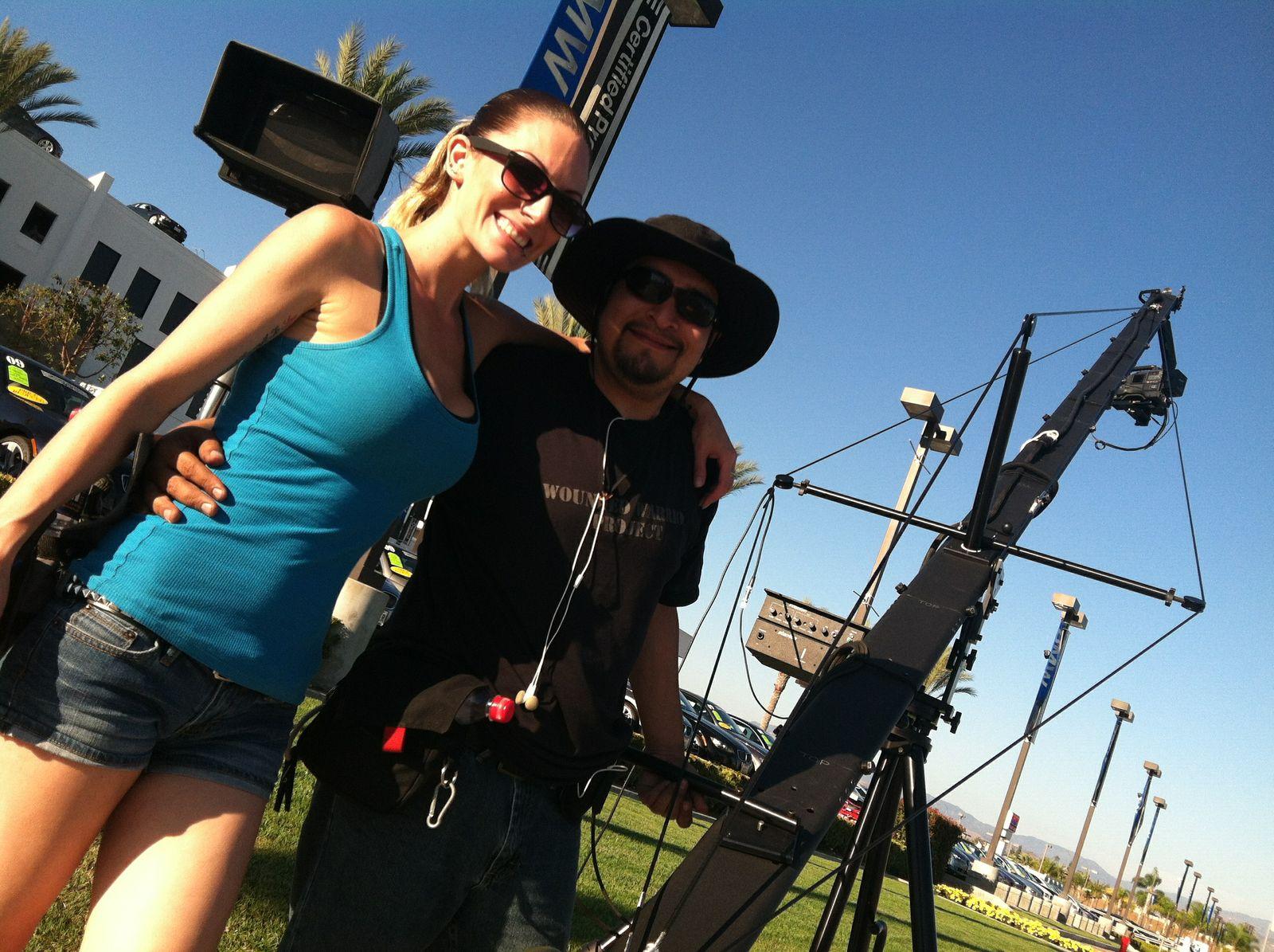 My Jimmy Jib Partner Juan!