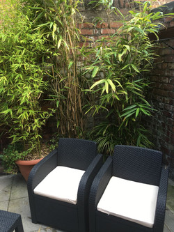 GARDEN AND SMOKING AREA