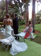 Boda civil coral virgen del mar