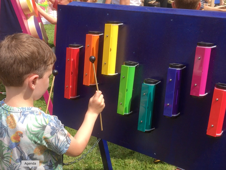 Kindermuziektuin: muziek is leuk!