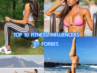 Top10 Fitness influencers 2017