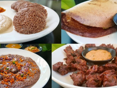 One Batter, Four Amazing Ragi Dishes