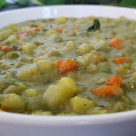 Vegetable Sagu    Karnataka style Sagu For Set Dosa, Poori
