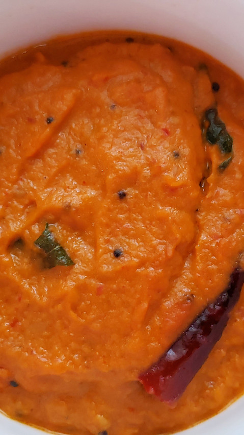 Tomato Chutney for Idli/Dosa