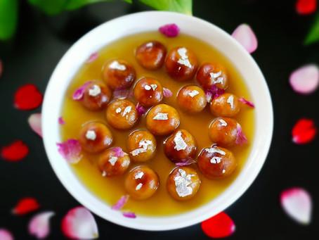 Air-Fryer Gulab Jamun