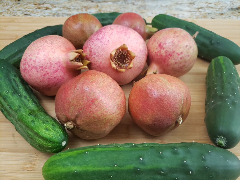 Pomogranate and Cucumbers.jpg
