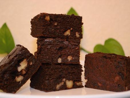 Ragi Banana Chocolate Cake