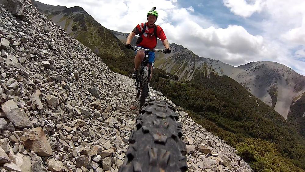 Mountain Biking singletrack in Craigieburn New Zealand