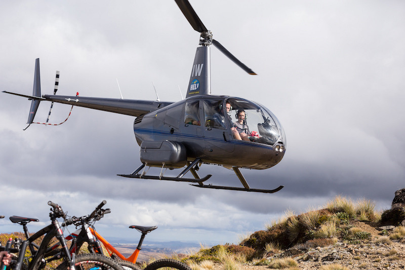 New Zealand heli biking with JustMTB