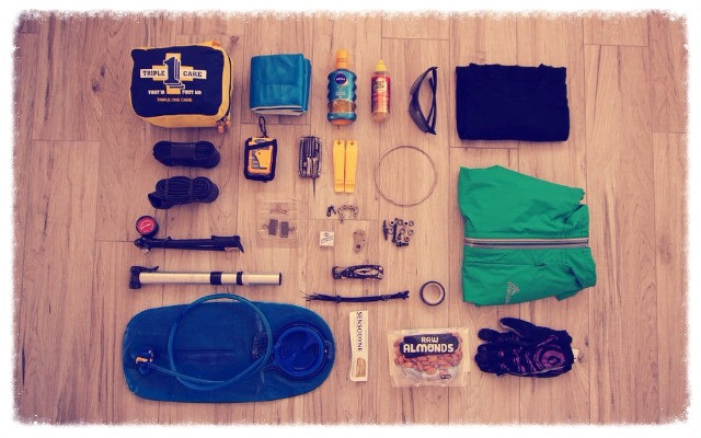 JustMTB mountain bike tour guide pack