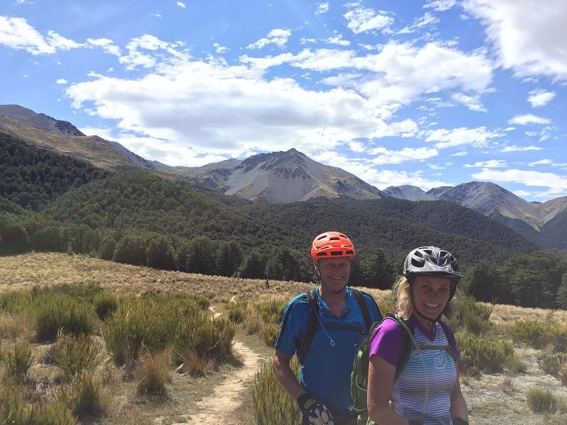 Craigieburn mountain biking in New Zealand