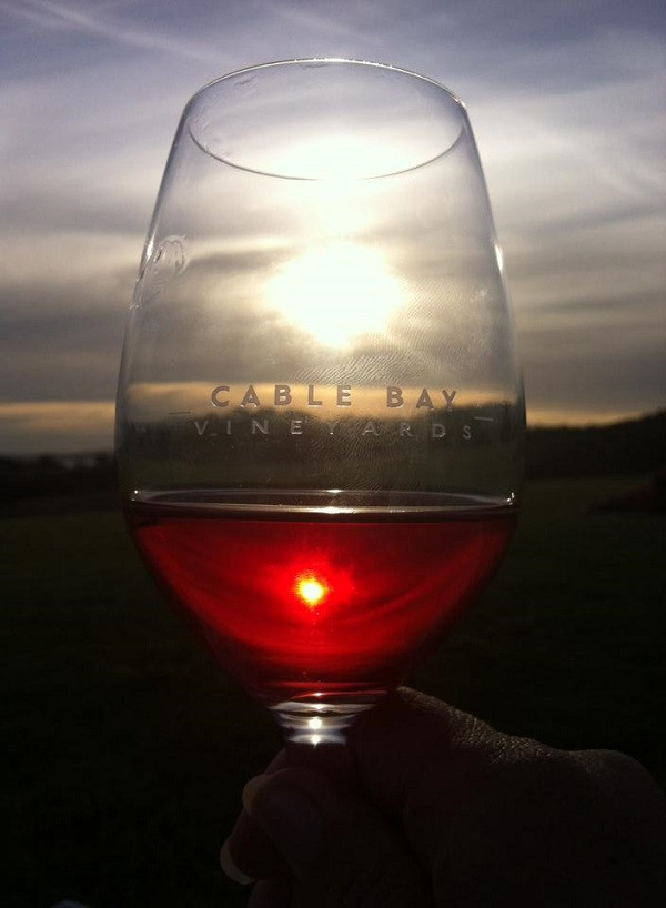 JustMTB wine tasting waiheke