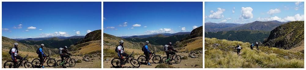 The heli biking MTB trail