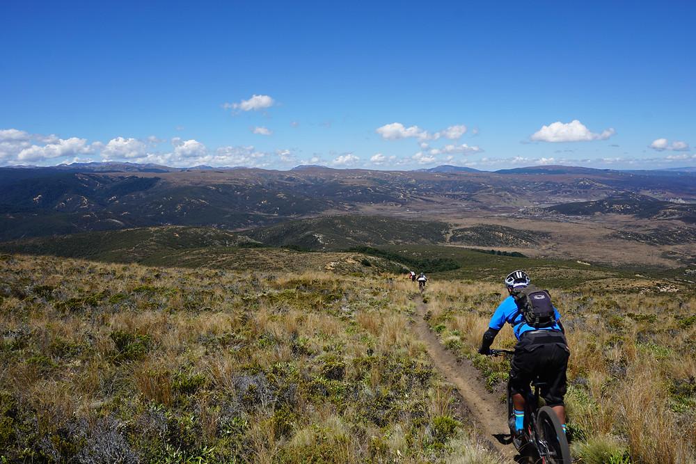 Heli-Biking singletrack
