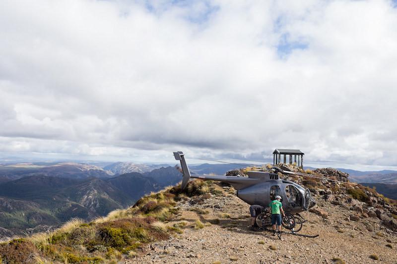 New Zealand Heli Biking In North island