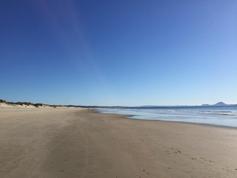 Beach walks in the Coromandel