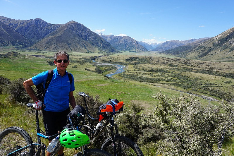 new zealand bike packing