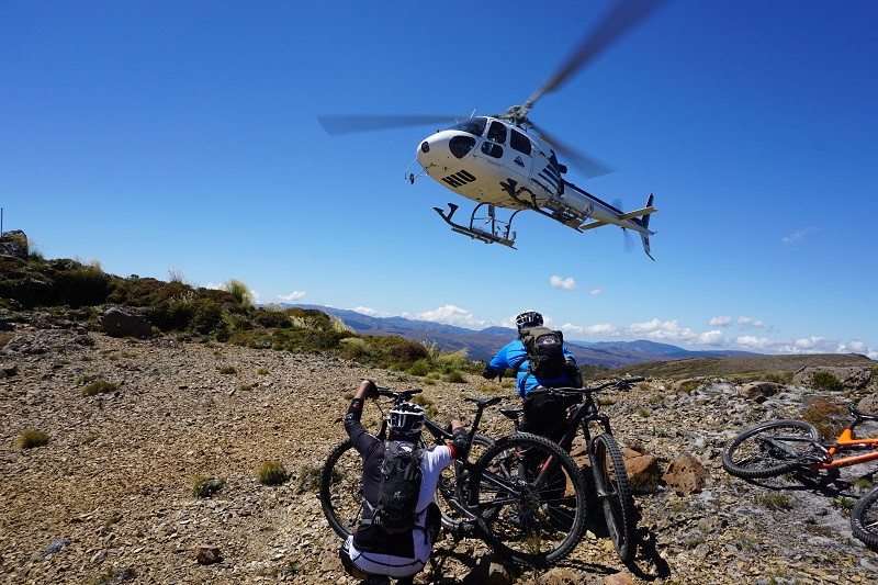 heli biking new zealand, justmtb heli bike