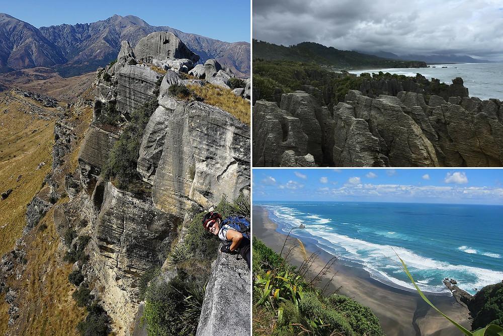 Castle hill boulders on JustMTB's NZ MTB Tours