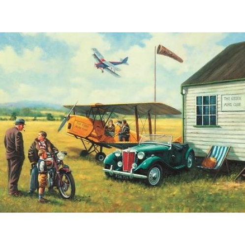 Aero Club  500 Piece Jigsaw Puzzle
