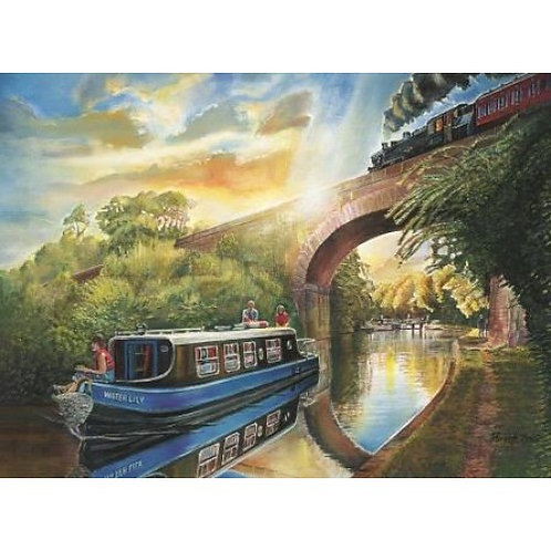 Canal Cruise 500 Piece Jigsaw Puzzle