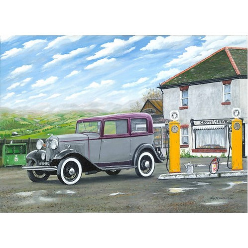 Motoring Memories - 1000 Piece Jigsaw Puzzle