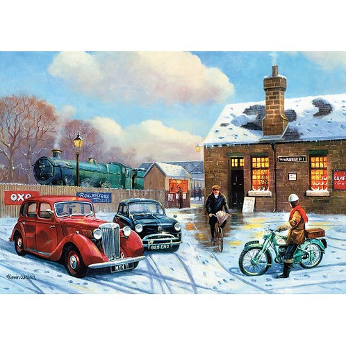 The Arrival 500 Piece Jigsaw Puzzle