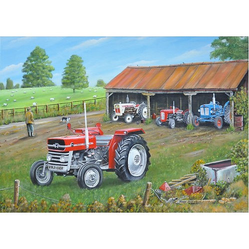 Ready for Work - 1000 Piece Jigsaw Puzzle
