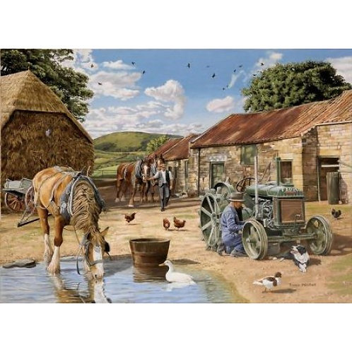 Back From The Fields - 1000 Piece Jigsaw Puzzle