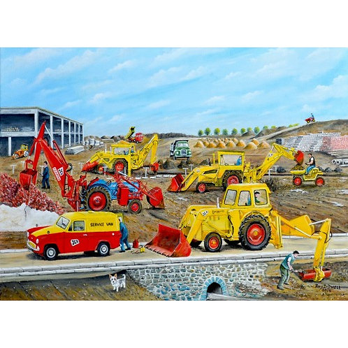 The Building Site 500 Piece Jigsaw Puzzle