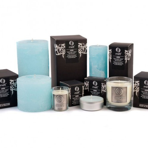 Angel scented luxury travel candle